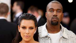 Musician Kanye West and wife Kim Kardashian West arrive at the Metropolitan Museum of Art Costume Institute Gala (Met Gala). Picture: Reuters/Lucas Jackson