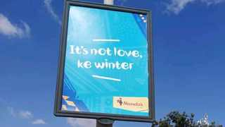 NANDO'S has poked fun at everyone who is coupling up during the cold season. Picture: Twitter/@ThabangTweezus