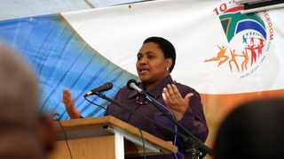 National Agriculture and Land Affairs Minister Thoko Didiza launches a Comprehensive Agriculture Support Programme at the Elandskop outside Pietermaritzburg