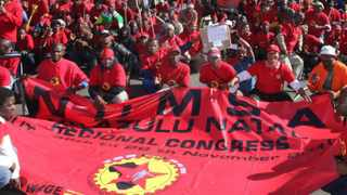 National Union of Metalworkers SA (Numsa) members. File photo: Marilyn Bernard/Independent Newspapers.