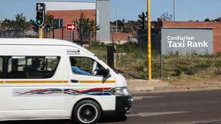 Negotiations are ongoing regarding the opening of the new taxi rank in Centurion. Picture: Jacques Naude/African News Agency (ANA)