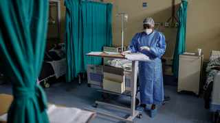 Nehawu has called on the government to hire more hospital staff and increase bed capacity in anticipation of a third wave of the deadly Covid-19 virus. File Picture: Guillem Sartorio/AFP