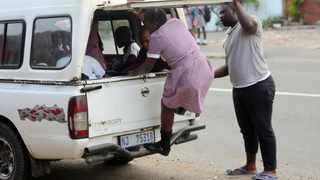 New scholar transport regulations are aimed at preventing scenes like overloading in the taxis. The use of bakkies to carry schoolchildren is illegal but there are areas where there is no other mode of transport. File Picture: Motshwari Mofokeng/African News Agency (ANA)