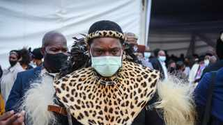 Newly named King of the Zulu nation Misuzulu kaZwelithini is facing danger after the South African Police Service (SAPS) started withdrawing its VIP protection from midnight. Picture: Motshwari Mofokeng/ African News Agency (ANA)