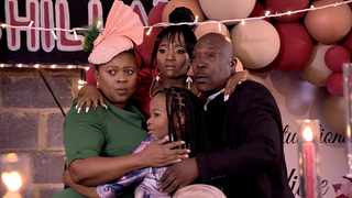Ngema family at Lindiwe's graduation party. Picture: Supplied