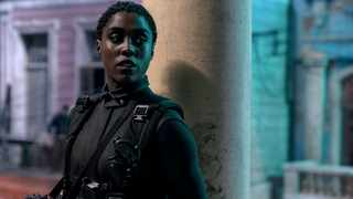 Nomi (Lashana Lynch) is ready for action in Cuba in 'No Time to Die'. Picture: Nicola Dove/Danjaq, LLC and MGM