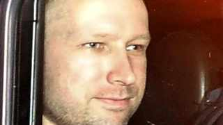Norwegian Anders Behring Breivik, the man accused of a killing spree and bomb attack in Norway.