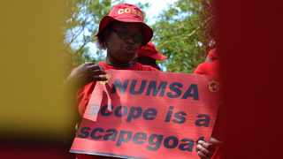 Numsa said it would stick to its guns after negotiations which started in June this year stalled over the demands for the wage increases and family responsibility leave, among other demands. Picture: Timothy Bernard.