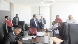 Officials from the Financial Sector Conduct Authority raided Dr Iqbal Survé's offices in Cape Town. Picture: Ayanda Ndamane/African News Agency (ANA)