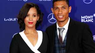 Olympic gold medalist Wayde Van Niekerk and his wife, Chesney are expecting their first baby.