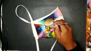 On Mandela Day, 10MillionMasks is launching the Art of Kindness which will see talented artists creating masks that people want to wear. For just R67, you can own a digital copy of one of these designer masks. Picture: Supplied