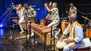 On Saturday, Gallery 44 & Theatre on Long Street were filled with supporters of the eight member marimba band, Abavuki. The event was a precursor to a 2022 World Tour album release, and was live streamed to reach a global audience. Picture: Jeffrey Abrahams