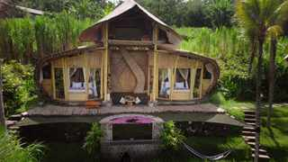 One of the gorgeous rentals featured in the Best of Bali episode on The World's Most Amazing Vacation Rentals. Picture: Netflix