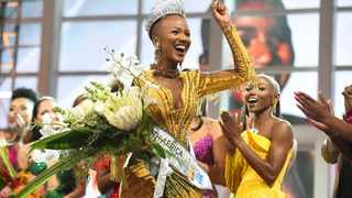 Our new Miss South Africa is 23-year-old Shudufhadzo Musida from Limpopo. Picture: Phando Jikelo/African News Agency(ANA)
