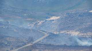 Out of control fires have raged across large areas of the Cape coastline in the Betty's Bay region since New Year. Photo: Henk Kruger/African News Agency (ANA)