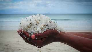 Over the past two weeks, the City's environmental management department has detected a sudden increase in nurdles at beaches around the city. Picture: Henk Kruger/African News Agency (ANA)(ANATOPIX)