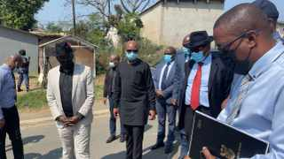 POLICE Minister Bheki Cele visited the families of three women gunned down in a politically-motivated shooting at the weekend. | Lirandzu Themba
