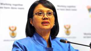 Parliament's portfolio committee on police chairperson Tina Joemat-Pettersson. Picture: GCIS