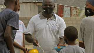 Pastor Ghydala Ngulungu heads RC GEN feeding scheme in Vrygrond. Picture: Tracey Adams/African News Agency (ANA)