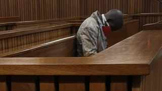 Paulos Johnny Mapadimeng, 34, in the Gauteng High Court, Pretoria, where he is facing 13 charges, including rape. Picture: Zelda Venter