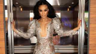 Pearl Thusi shows off her glamerous style. Picture: Instagram.