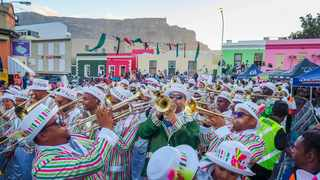 Pictured are the Baruch Entertainers in the Bo-Kaap. Picture: David Ritchie/African News Agency/ANA