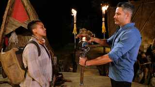 Pinty gets voted of 'Survivor SA: Immunity Island' in a shocking blindside that extinguished her flame. Picture: Supplied