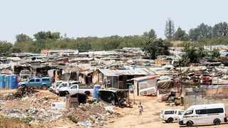 Plastic View informal settlement in Pretoria east. Picture: Jacques Naude/African News Agency (ANA)