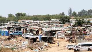 Plastic View informal settlement in the east of Pretoria. Picture: Jacques Naude/African News Agency (ANA)