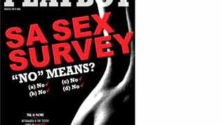 Playboy SA joined the many voices against the rising levels of rape with a racy cover titled No means no.