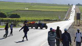 Police are investigating a fraud case after a Graafwater farm owner allegedly defrauded five workers of their Covid-19 Temporary Employer/Employee Relief Scheme (Ters) money. Picture: Henk Kruger/African News Agency