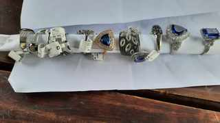 Police recovered R5m worth of jewellery stolen at various jewellery stores in Cape Town, Franschhoek and Stellenbosch in 2019 Picture: SAPS