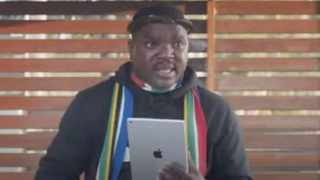 Popular former Ukhozi FM DJ and commentator Ngizwe Mnchunu says he is consulting his lawyers following days of being harassed by police. Screengrab from YouTube