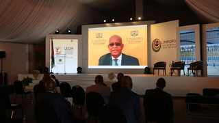 Premier Stan Mathabatha closing the Limpopo investment conference. Picture: Supplied