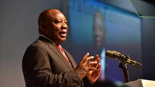 President Cyril Ramaphosa addresses inaugural SA investment conference, October 26, 2018. PHOTO:Government Communication and Information System (GCIS)