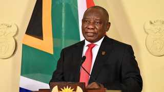 President Cyril Ramaphosa addressing the nation in this file picture. Picture: Elmond Jiyane/GCIS