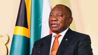 President Cyril Ramaphosa addressing the nation on the measures to restore order and stability in parts of KwaZulu-Natal and Gauteng at the Union Buildings. Supplied: Siyabulela Duda/GCIS (11/07/2021)