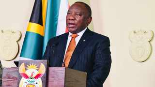 President Cyril Ramaphosa addressing the nation on the strengthened measures to restore order and stability after days of unrest in KwaZulu-Natal and Gauteng. Picture: Siyabulela Duda/GCIS