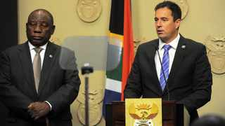 President Cyril Ramaphosa and DA leader John Steenhuisen. Picture: Armand Hough/African News Agency (ANA) Archives