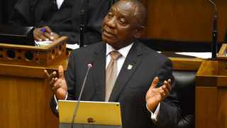 President Cyril Ramaphosa delivers his State of the Nation Address in the National Assembly. Picture: Phando Jikelo/African News Agency/ANA