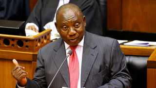 President Cyril Ramaphosa in Parliament. File picture: Mike Hutchings/Reuters