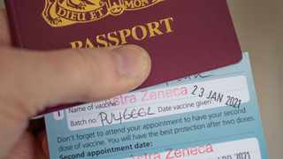 """President Cyril Ramaphosa introduced """"vaccine passports"""" for various purposes, amid resistance by many South Africans to getting vaccinated"""