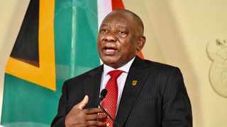 President Cyril Ramaphosa last night addressed the nation on developments in the country's response to the Covid-19 pandemic Picture: Siyabulela Duda