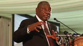 President Cyril Ramaphosa refused to accept that the country was in a recession and blamed economic woes on poorly performing agricultural sector. File picture: ANA