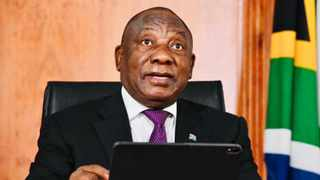 President Cyril Ramaphosa's light-hearted remarks lamenting his 'missing' iPad missed the mark and caused quite the discussion online. Picture: GCIS