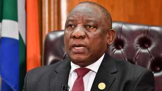 President Cyril Ramaphosa said the government had been working with social partners to finalise an extensive social and economic relief package that would support poor households and provide assistance to affected businesses and employees. Picture: Elmond Jiyane/GCIS