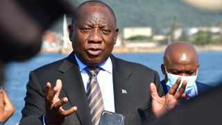 President Cyril Ramaphosa was in Durban this week for an oversight visit at the Durban port Picture: SUPPLIED