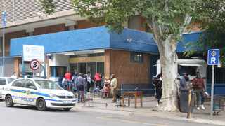 Pretoria Central police station is open again after having to close for decontamination. Picture: Jacques Naude/African News Agency (ANA)