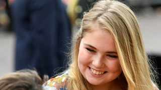 Prime Minister Mark Rutte said that the Dutch Princess Catharina-Amalia Beatrix Carmen Victoria, could marry someone of any gender without fear of relinquishing the crown. File picture: Piroschka van de Wouw/Reuters