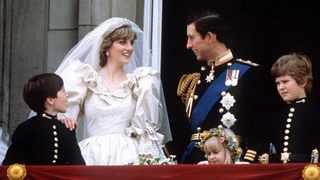 Prince Charles and Princess Diana stand on the balcony of Buckingham Palace in London, following their wedding at St. Pauls Cathedral, in this June 29, 1981. Picture: Reuters